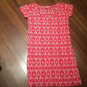 J.Crew Pattern T-shirt Dress
